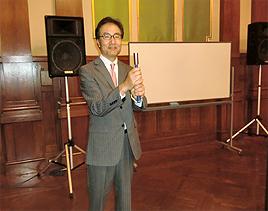 東将啓プロの震災チャリティーゴルフ講座「クラブを持たずにゴルフが上手くなる!」
